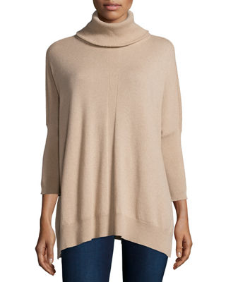 Cashmere Dolman-Sleeve Turtleneck Sweater Compare Price