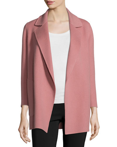 Clairene New Divide Open-Front Coat