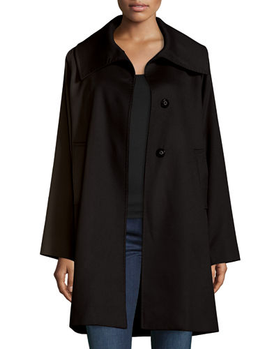 The Jane Cashmere Coat, Black
