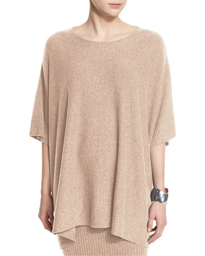 Fisher Project Wool Poncho Top
