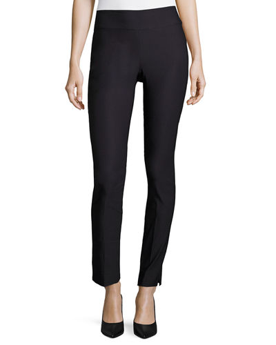 Slim Wonderstretch Pants, Midnight, Petite