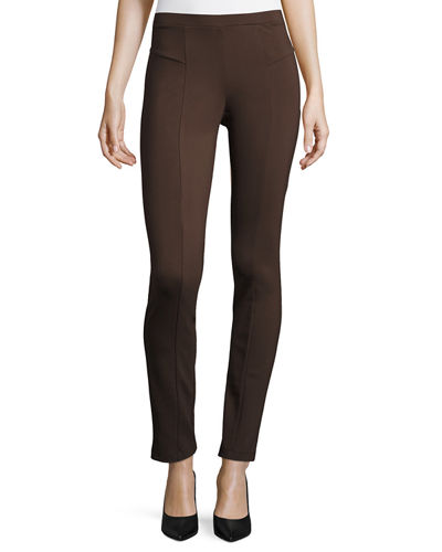 Perfect Ponte Slim Pants, Petite