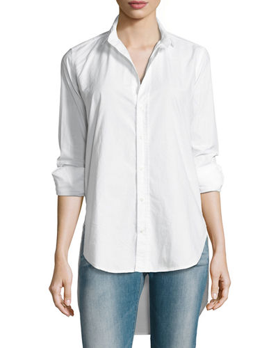 Grayson High-Low Button-Down Shirt
