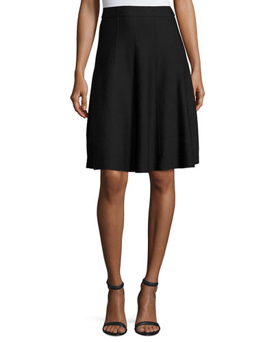 NIC+ZOE Paneled Twirl Skirt, Midnight, Petite