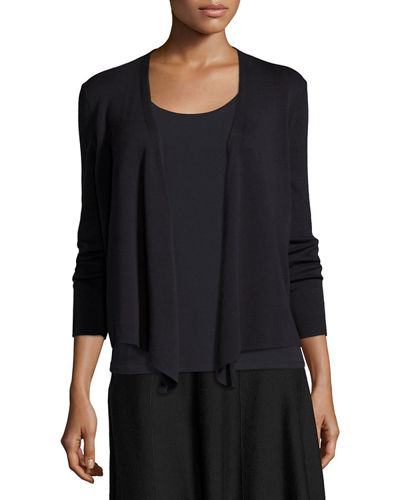 4-Way Lightweight Cardigan, Plus Size
