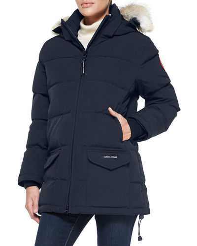 Solaris Fur-Hood Parka Coat
