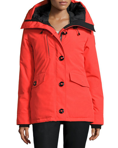 Canada Goose Rideau Hooded Parka, Monarch Orange