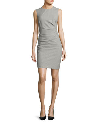 Wool Sheath Dress | Neiman Marcus