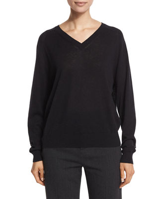 Relaxed Cashmere V-Neck Sweater Reviews