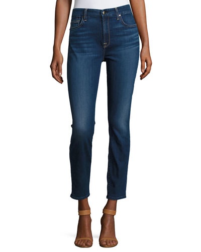 Riche Touch Classic Skinny Ankle Jeans