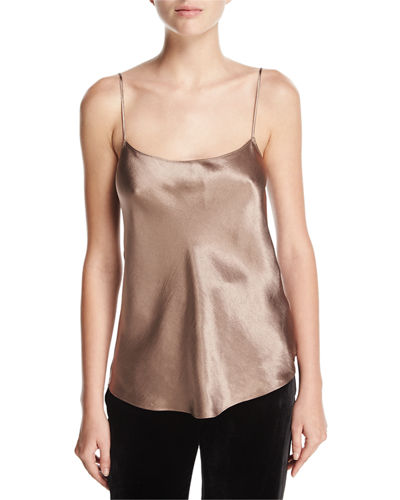 Satin Camisole, Coffee