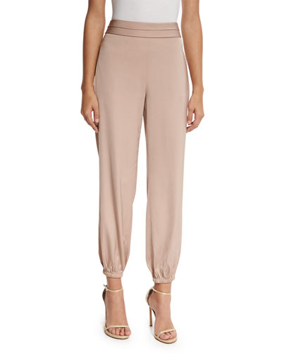 Pascal Tapered Stretch Jersey Pants