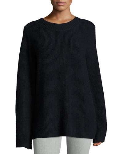 Markell Ribbed Wool & Cashmere Sweater