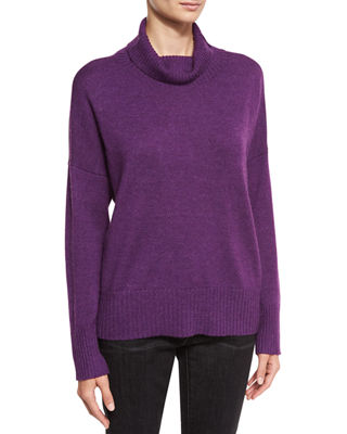Lush Merino Boxy Turtleneck Sweater
