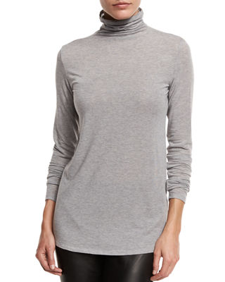 Funnel-Neck Tencel? Top