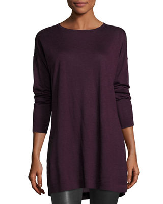 Long-Sleeve Tencel? Tunic