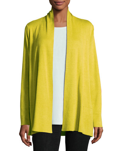 Tencel® Blend Cardigan with Pockets