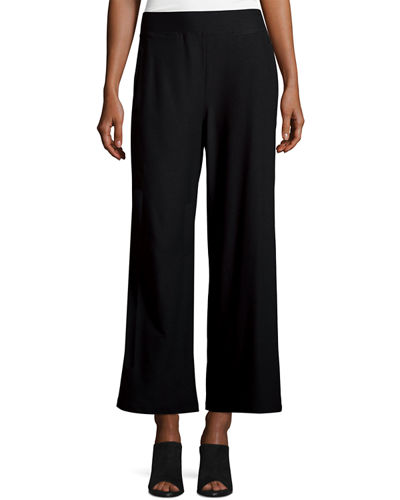 Pull On Wide Leg Pants | Neiman Marcus