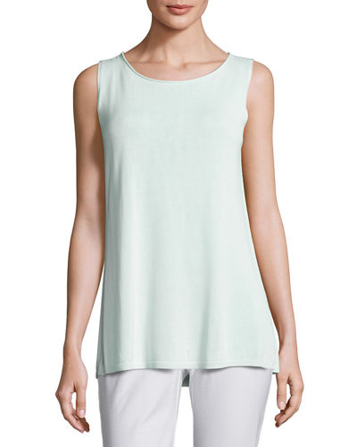 Eileen Fisher Ballet-Neck Tank