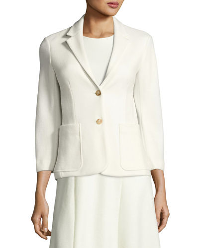 Haven 3/4-Sleeve One-Button Jacket