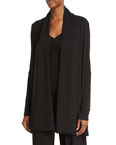 Sua Draped Open Cardigan
