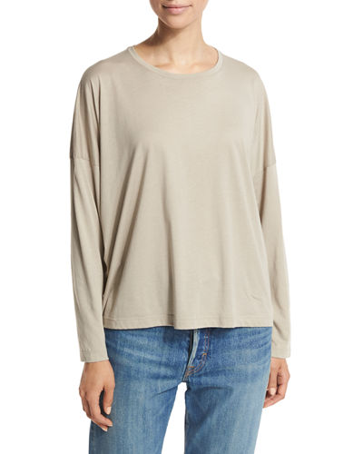 Relaxed Boat-Neck Sweater