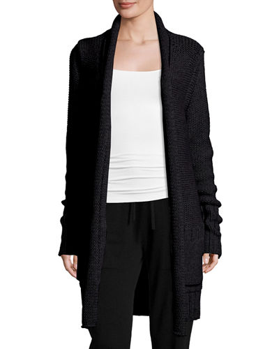 David Long Open Cardigan