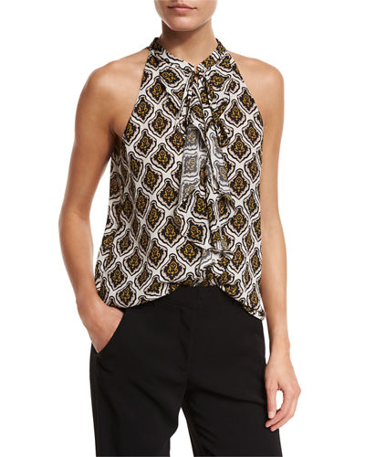 Steele Passi Flora Silk Top
