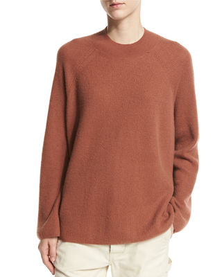 Cashmere High Crew Pullover