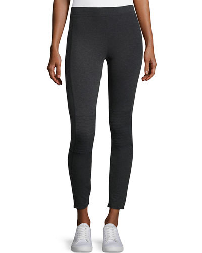 City Zip-Cuff Leggings