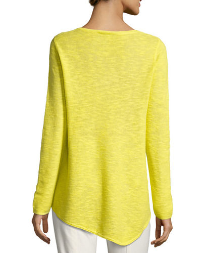 Long-Sleeve Organic Links Tunic, Plus Size