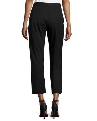 Kennedy Straight-Leg Cropped Pants