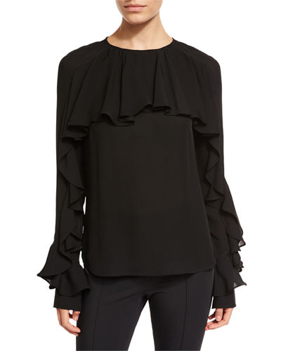 Ruffle Shirts Blouse. Long Sleeve Mosocow Women's Vintage Victorian Ruffle Long Sleeve Shirt Blouse Tops. by Mosocow. $ - $ $ 16 $ 22 99 Prime. FREE Shipping on eligible orders. Some sizes/colors are Prime eligible. 4 out of 5 stars Product Features Stand-up collar, ruffle .