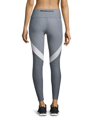 Edge Colorblock Ankle Running Tights/Sport Leggings