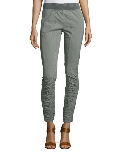 Alexa Stretch Cargo Leggings, Cardamon