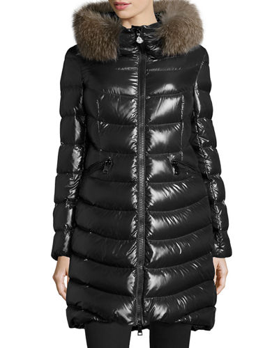 Moncler Albizia Hooded Puffer Jacket