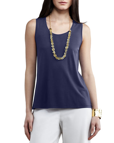 Eileen Fisher Stretch Silk Tank