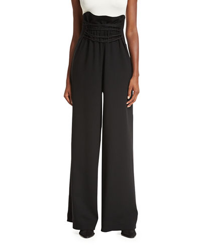 Roy High-Waist Wide-Leg Pants