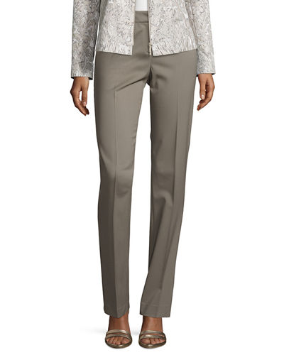 Barrow Stretch-Wool Suiting Pants