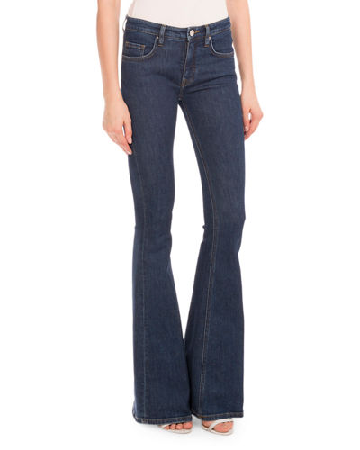 Five-Pocket Flare-Leg Jeans