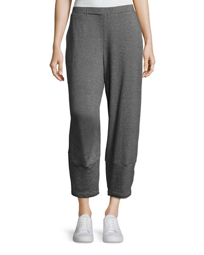 Tencel® Terry Lantern Ankle Pants