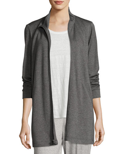 Tencel® Stretch-Terry Jacket, Petite