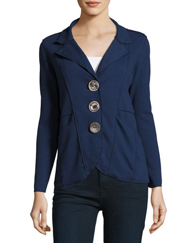 Lompac Metal-Button Jacket