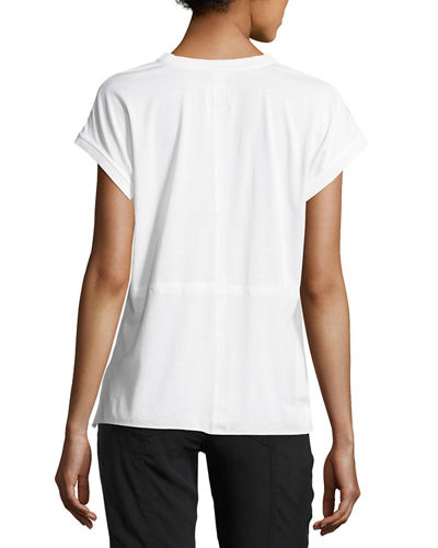Go Any Time Silk Tee