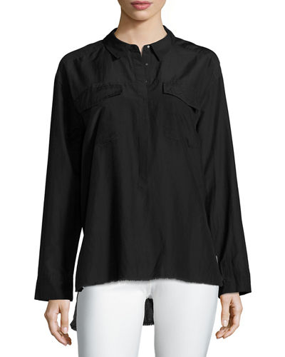 Go by Go Silk Go Big Long-Sleeve Shirt