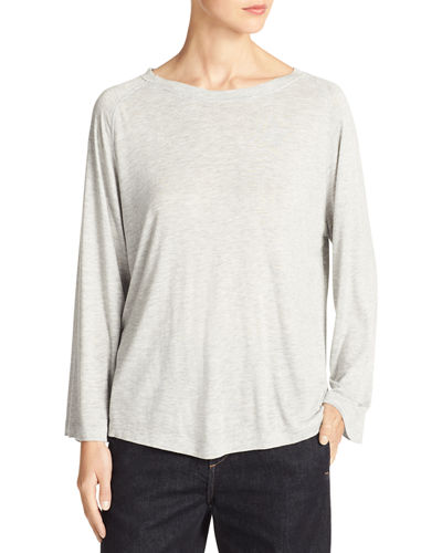 Full-Sleeve Slub Tee