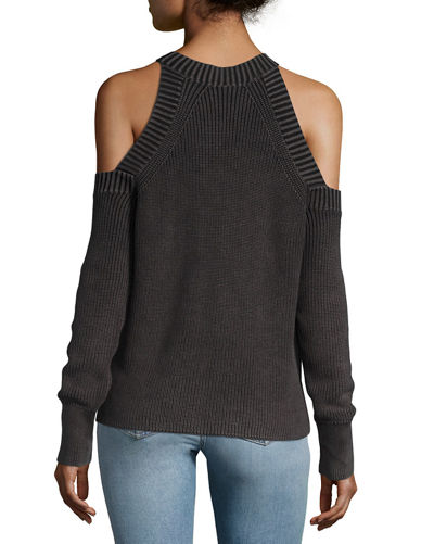 Dana Cold-Shoulder Sweater