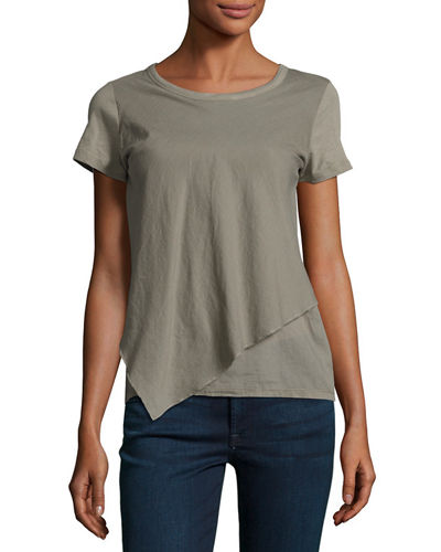 Asymmetric Cotton Tee