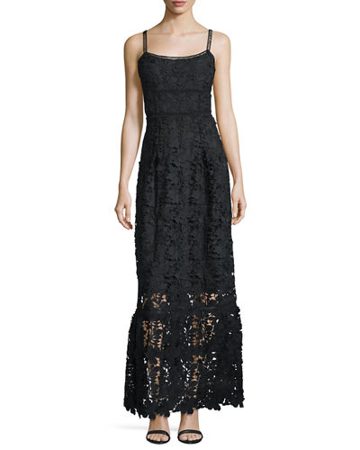 Jill Lace Sleeveless Maxi Dress