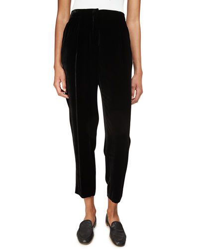 Rivington Velvet Ankle Pants